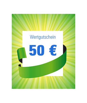 50 € Wertgutschein